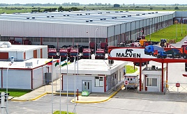 Plant for production of MAZ trucks