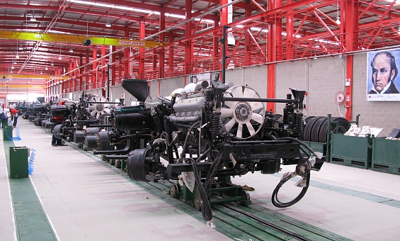 Plant for production of MAZ trucks - image 7